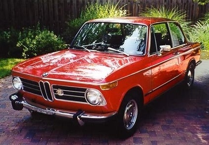 Perfectly restored BMW 2002 Tii