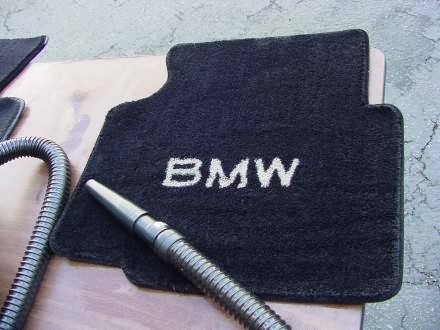 BMW 318i floor mat after cleaning with DP Carpet and Upholstery Cleaner