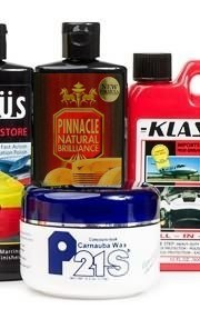 Detailing chemicals from P21S, Klasse and Pinnacle