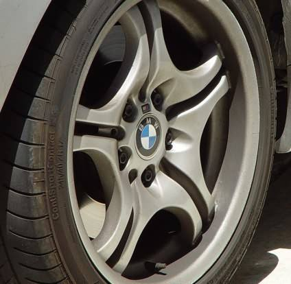 Dirty Wheel BMW Wheel Need Cleaning