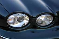 Plastic Jaguar Headlights
