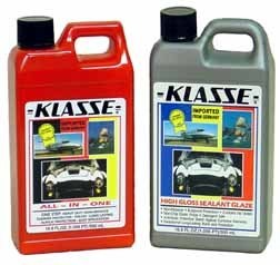 Klasse All-In-One and High Gloss Sealant Glaze
