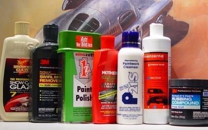 Car polishes