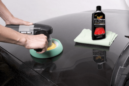 Applying Meguiar's Ultimate Compound by Machine