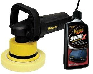 Meguiar's G110v2 Car Polisher with SwirlX Car Polish