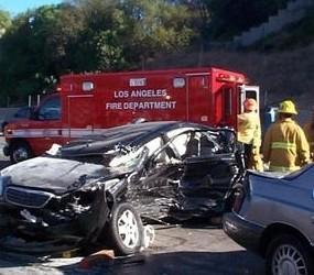 California Freeway Accident