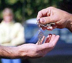 Handing Over Keys After Sale
