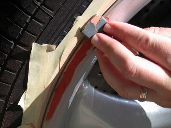 how to use wet and dry sandpaper on metal