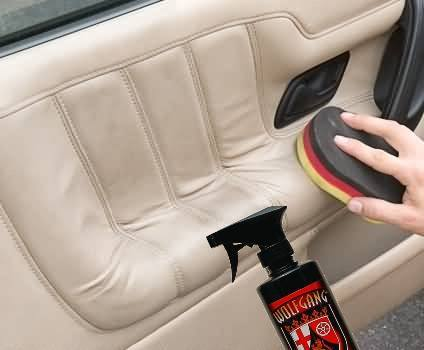 how to keep light colored car seats clean